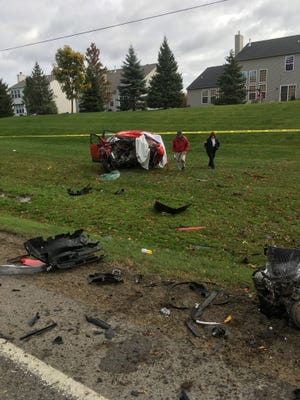Livingston County sheriff's officials said a 69-year-old Howell woman died after her Jeep Renegade left Latson Road and struck a tree in Oceola Township.