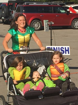 The Teenage Mutant Ninja Turtles crossed the finish line after a strong showing.