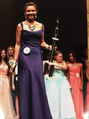 Kiara Armstrong of Ruidoso Downs took camera-ready honors at the Miss Preteen pageant in July, earning a trip to Orlando next year for the national competition.