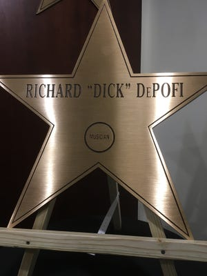 Dick Depofi was honored at the Forum's Wall of Stars on Tuesday.