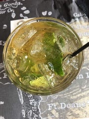 A mint julep from Summerlin Jake's in south Fort Myers.