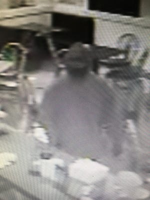 The Sparks Police Department is looking for a suspect that allegedly robbed a Jimboy's Tacos.