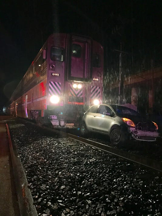 Train-Vehicle Crash