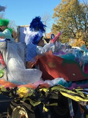 """One student """"experiments"""" with science in a bid to create candy on the float."""