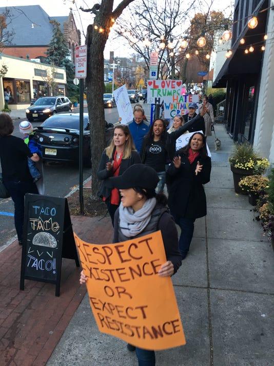 Montclair protest
