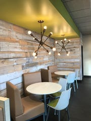 This is a look at the inside of another McDonald's owned by Stephanie and Christian Rawden. When the rebuild of the McDonald's at 757 E. Cumberland St. is complete, it's going to be similarly styled and decorated.