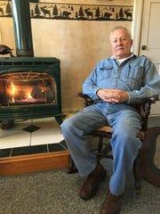 John Marks of Aurora built the laundromat 25 years ago.