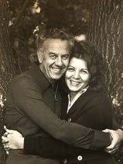 Sid and Charlene Tuchman in 1971. Sid, the former owner of Tuchman Cleaners, died at his home in San Francisco, Calif. on Jan. 7, 2017.