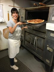 Janene Schiavo is the daytime pizza chef at Poppy's Pizza in south Fort Myers.
