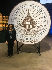 Zakia Trotter attended the Presidential Inauguration