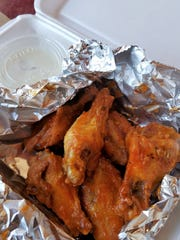 Lombardi's also offers real Buffalo wings in the style of Buffalo, New York. The wings are fried without a coating, then tossed in a traditional hot sauce with a sprinkle of Lombardi's secret seasonings.