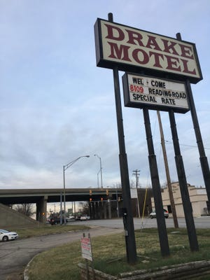 The Drake Motel is on Reading Road near Interstate 75.