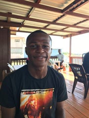 Alexander Welcome, a freelance tour guide in Roatan.
