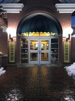Exterior entrance to the Post Road Brew House. The Culinary Institute of America's new pop-up gastropub began serving diners Feb. 16.