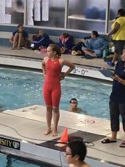 Grosse Ile swimmer Hannah Bellard