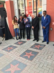 Some of RFC's longtime supporters were honored with a personalized Hollywood star on the sidewalk of RFC on Texas Avenue.