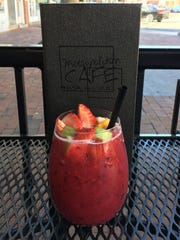 The Wildberry Sangria at Metropolitan Cafe in Freehold.