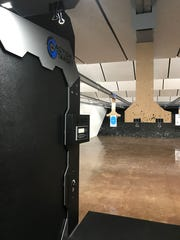The new indoor gun range inside Enck's Gun Barn, 17 E. Main Ave., Myerstown.