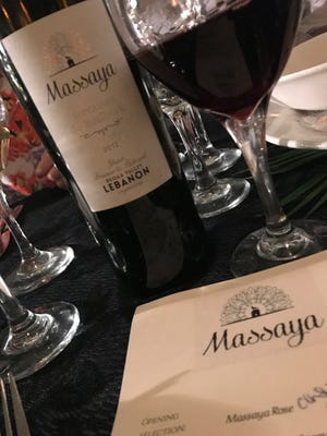 Wines from Massaya, a winery in Lebanon, were recently served at a tasting at Tarpon Lodge on Pine Island.