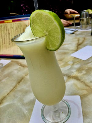 Find the Key Lime Colada on The Dock at Crayton Cove in Naples.