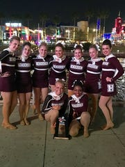 HCHS's Colonelettes placed seventh in pom at NDA High School Nationals.