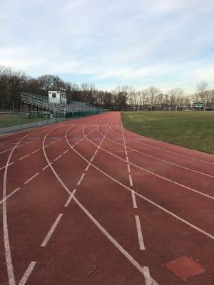 Passaic Valley High School's running track