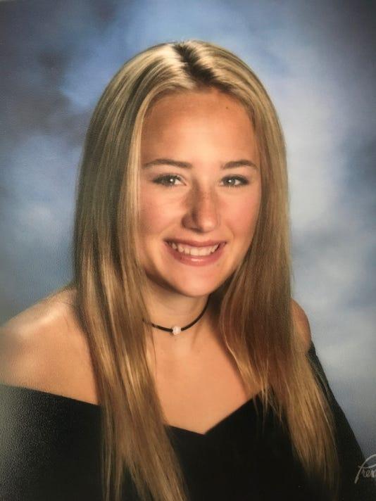 Carmella Liscio, Tappan Zee girls basketball, Rockland Scholar-Athlete of the Week