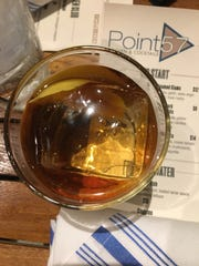 The rum Old Fashioned is among the craft cocktails served at Point 57 Kitchen & Cocktails in Cape Coral.