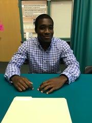 Lounceny Keita signed to play football with Keiser University.