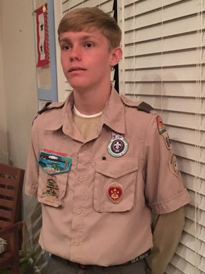 Donald W. Zimmerman III, Boy Scout Troop 840, South Fork High School JROTC Cadet