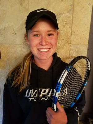 Poudre's Ky Ecton will play for a No. 1 singles state title on Saturday.