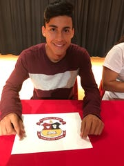 Ulises Soto signed to play soccer at Salisbury Prep School.