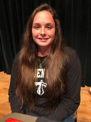 Golden Gate High School girls basketball player Carlin Palmer.
