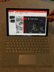 Using Surface Pen to draw and write on Surface Pro