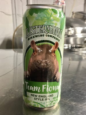 Listermann is brewing up a Team Fiona New England-style IPA.