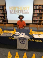 Northeast basketball standout Diontre Franklin signed