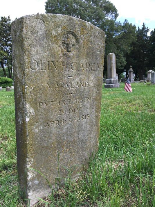 sby olin carey grave