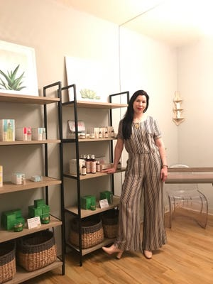Courtney Dunlop, formerly a beauty editor and consultant for Clinique, moved back from New York to Springfield to open Good Skin Day, a store devoted to skin care.