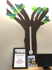 The Hasbrouck Heights Library have a donation tree