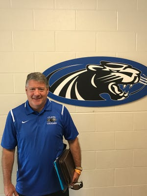 Veteran coach Wally Vickers has his playbook out and is ready to take over the Clark Montessori Cougars.