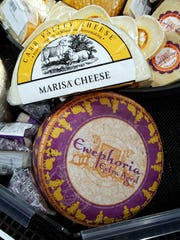 Sierra has brought a number of cheeses brand-new to the Evansville area to the cheese-enhanced Schnuck's stores, for example Ewephoria and Carr Valley Marisa, two unique sheeps' milk cheeses.