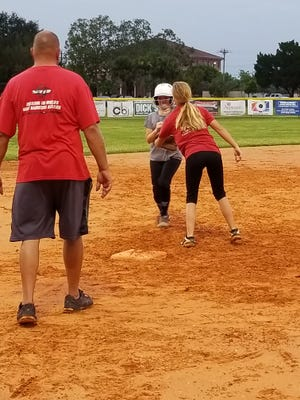 The Cape Coral Junior Softball All-Stars, shown practicing Monday, may just have the pitching strength to reach the World Series.