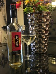 Hogue Sauvignon Blanc paired well with grocery store