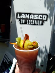 It's everything you ever wanted: Lamasco Bar on the go with your favorite adult beverages, right at the Franklin Street Bazaar.