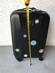 Packing for a week, weekend or month in a 22-inch carry-on: It can be done! Wheels and handle included, my 22-inch TUMI hard-case carry-on has served me well.