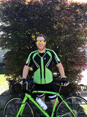 Kyle Griffith exceeded his 150 mile goal and road nearly 200 miles to help fight kids' cancer.