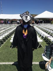 Don Kreitz graduated from CLU on May 14. He started