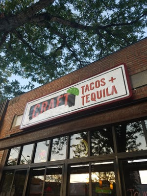 Craft Tacos and Tequila opened as a rebranding of Salsa Brava this spring.