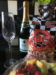 J. Roget Extra Dry American Champagne pairs well with