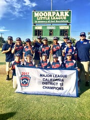 The El Rio 12U All-Star team won its first district